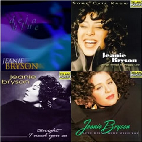 Jeanie Bryson album covers
